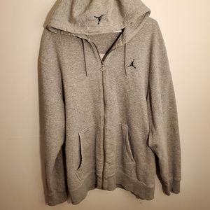 Air Jordan Full Zip Sweatshirt Jumpman Logo Size L